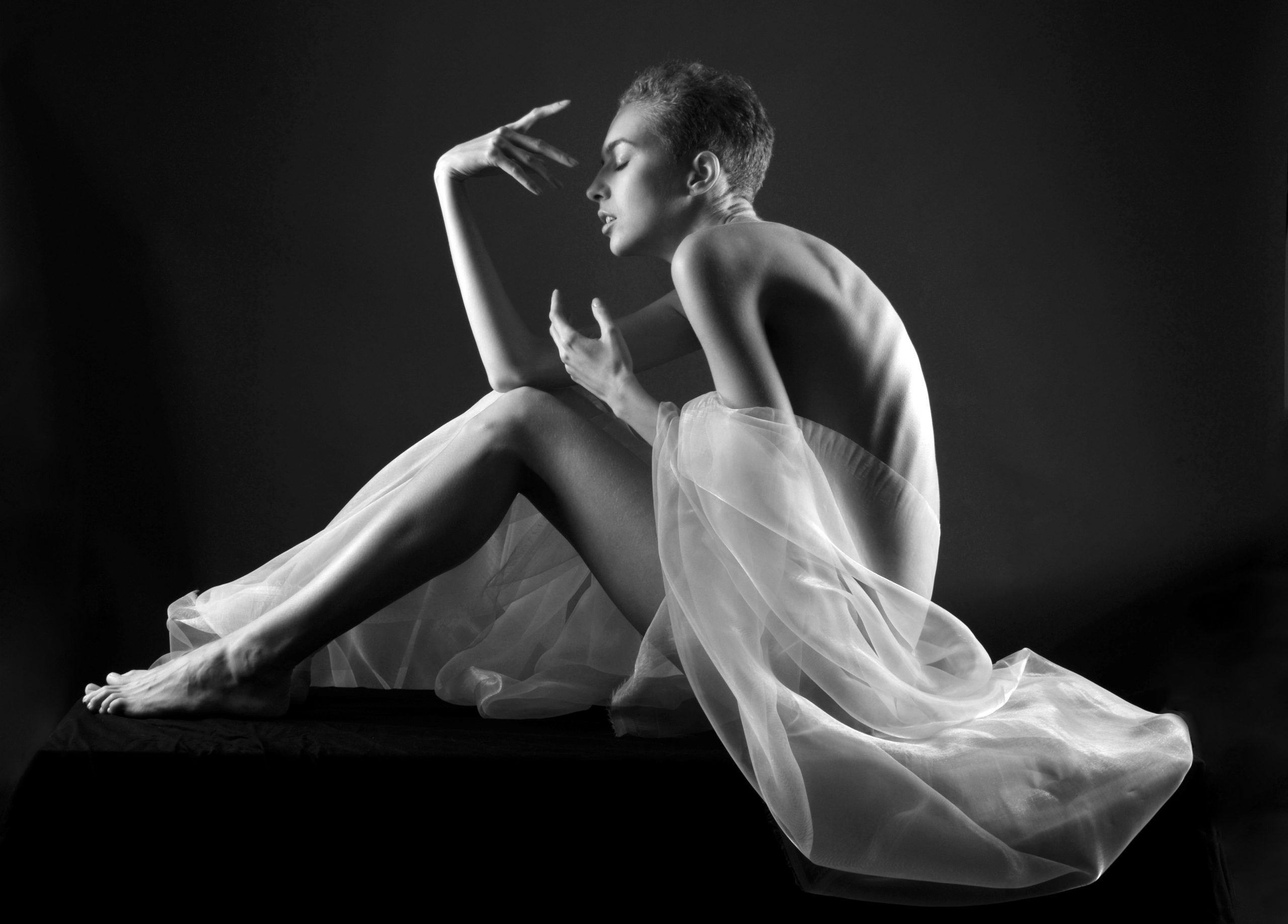 Elegance éclairée Self reflection
