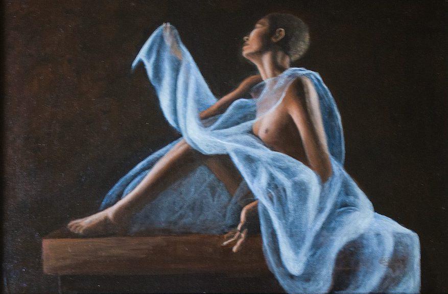 adoration nude art
